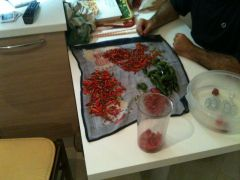 Preparazione Tabasco: fase 1